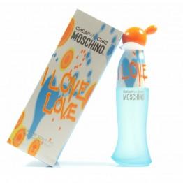 Moschino Cheap & Chic I Love Love  ОСТАТОК С ФЛАКОНОМ 30 мл, полноценный флакон