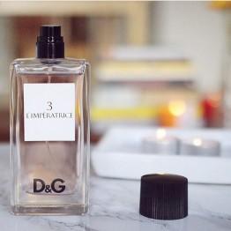 Dolce&Gabbana Anthology L`Imperatrice 3  Остаток во флаконе 30 мл, полноценный флакон